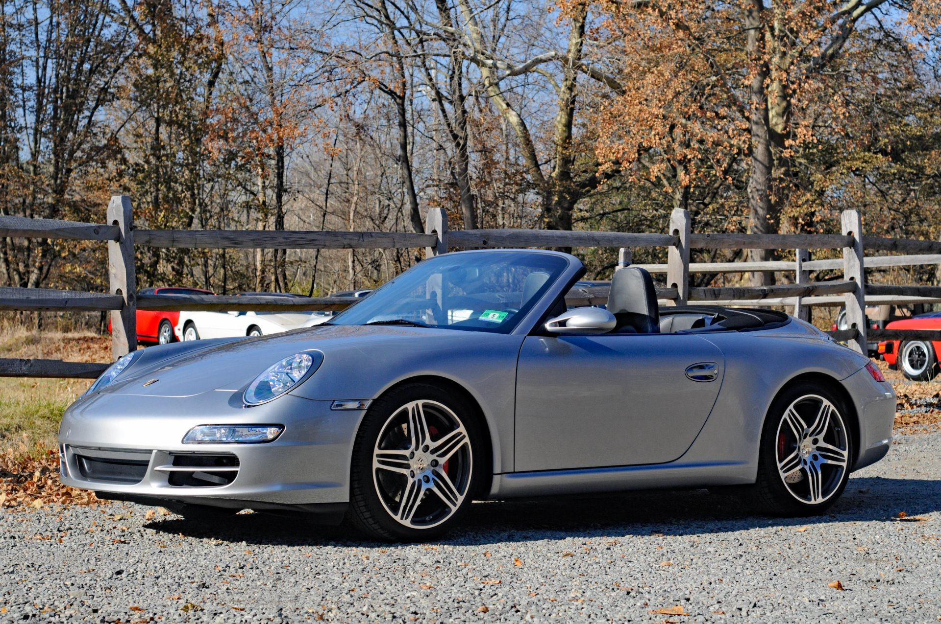 2008 porsche 911 carrera s cabriolet carrera s stock 2385 for sale near peapack nj nj. Black Bedroom Furniture Sets. Home Design Ideas