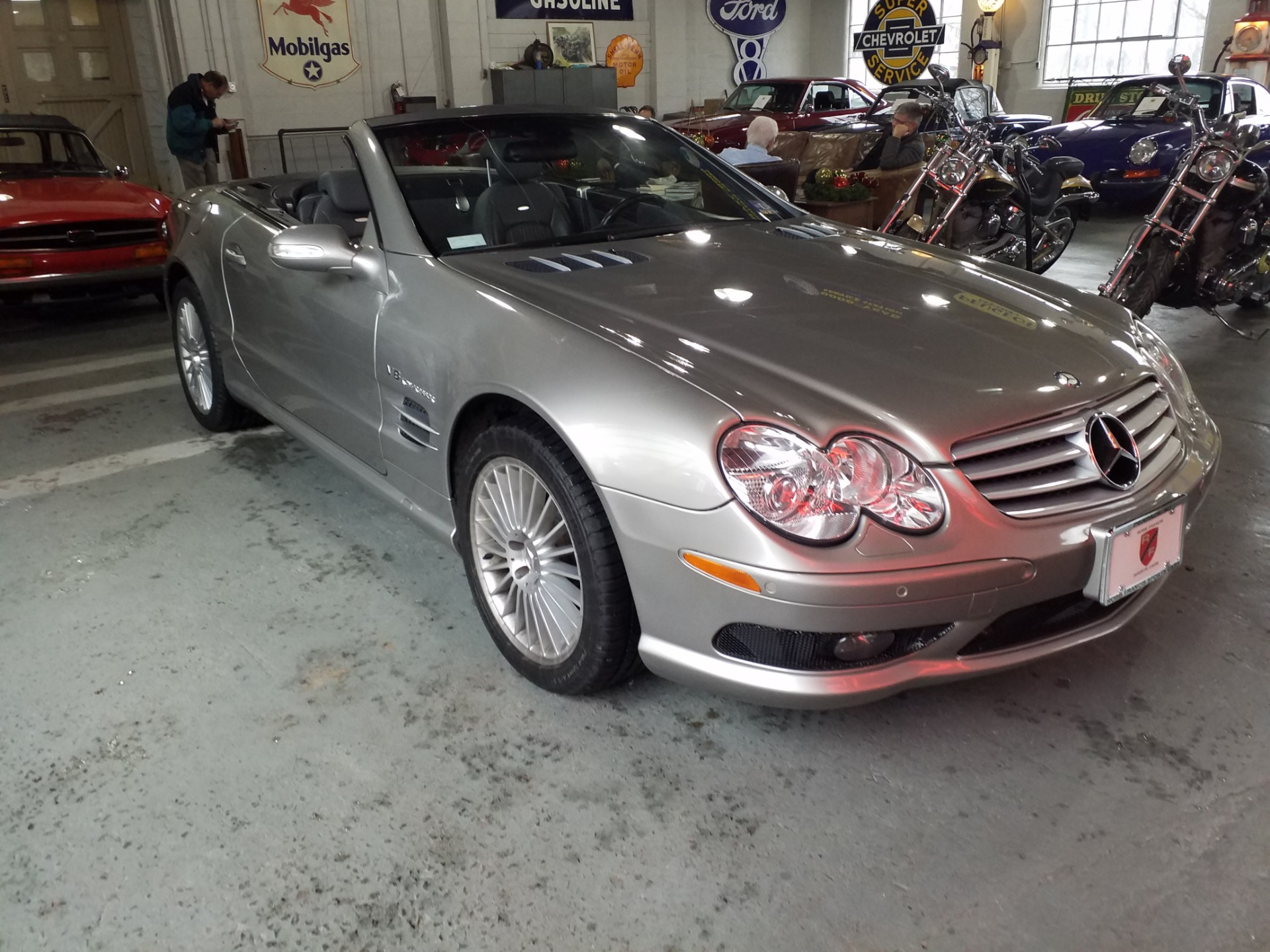 Used 2003 Mercedes Benz SL 55 AMG  | Peapack, NJ