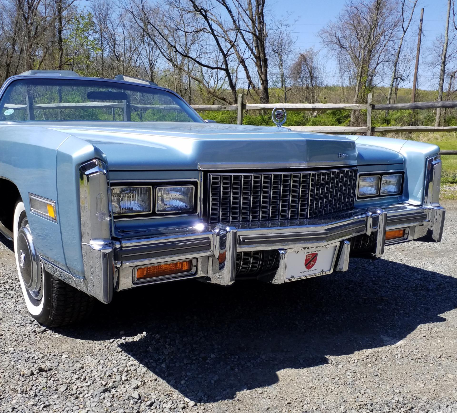 1976 Cadillac El Dorado Stock # 2551 For Sale Near Peapack