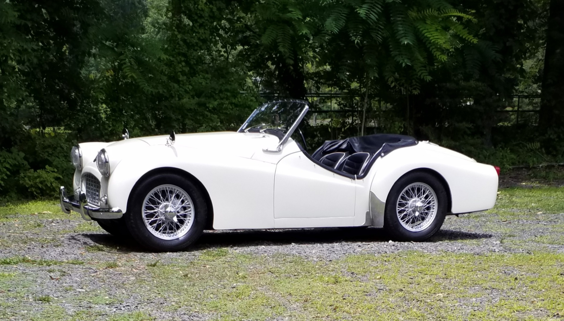 Used 1957 Triumph TR 3 Small Mouth   Peapack, NJ